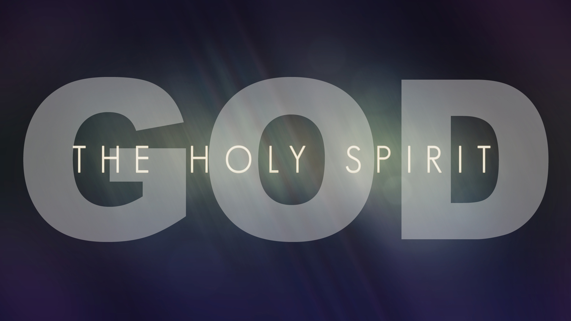 GOD-THE HOLY SPIRIT